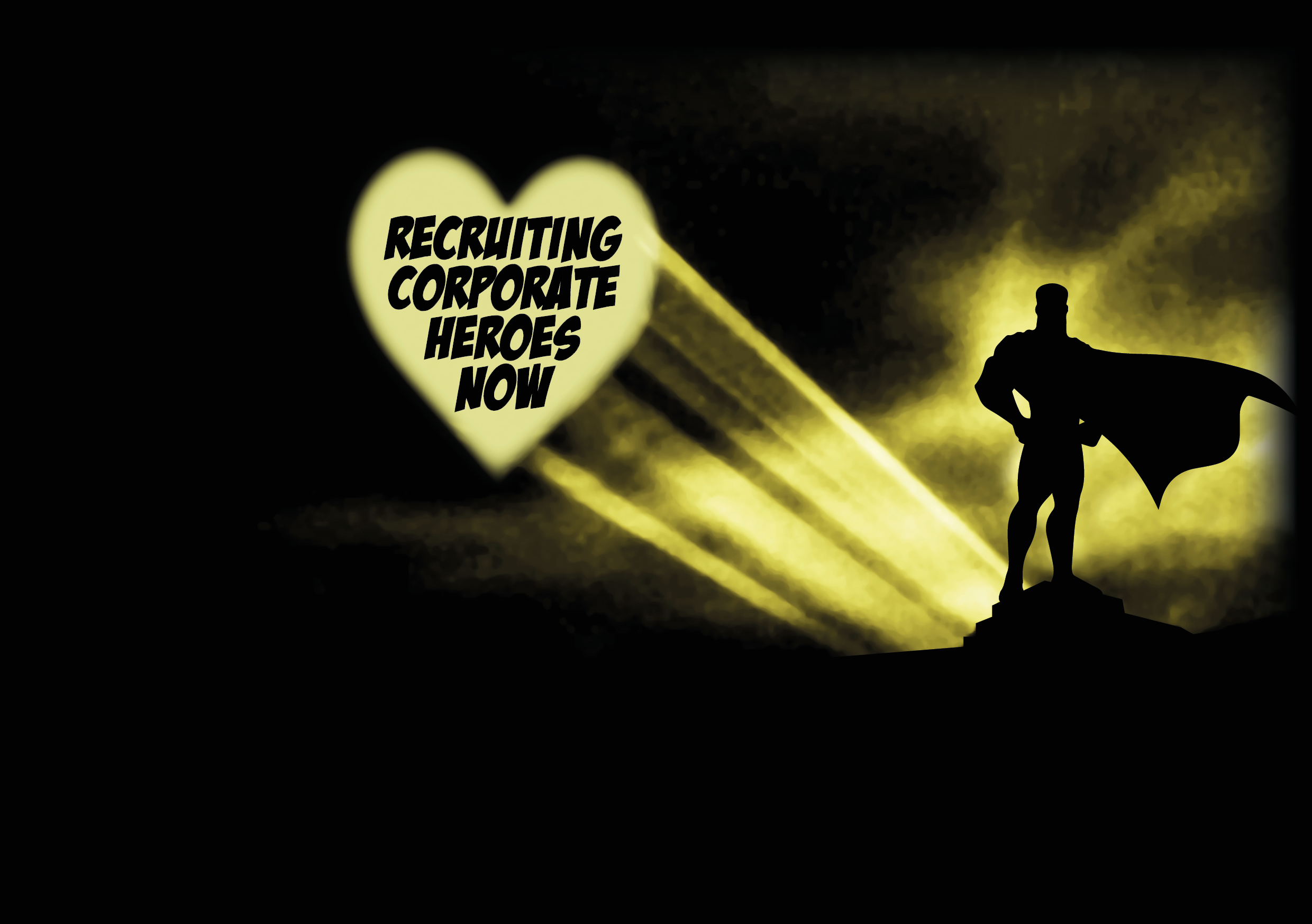 Recruiting Corporate Heroes Silhouette (4)