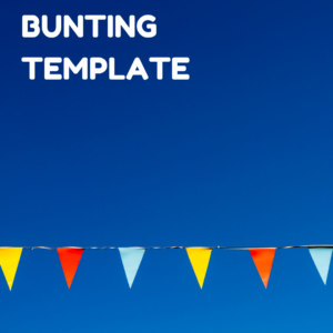 Bunting button