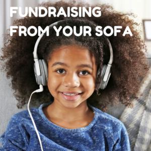 Sofa fundraising ideas button